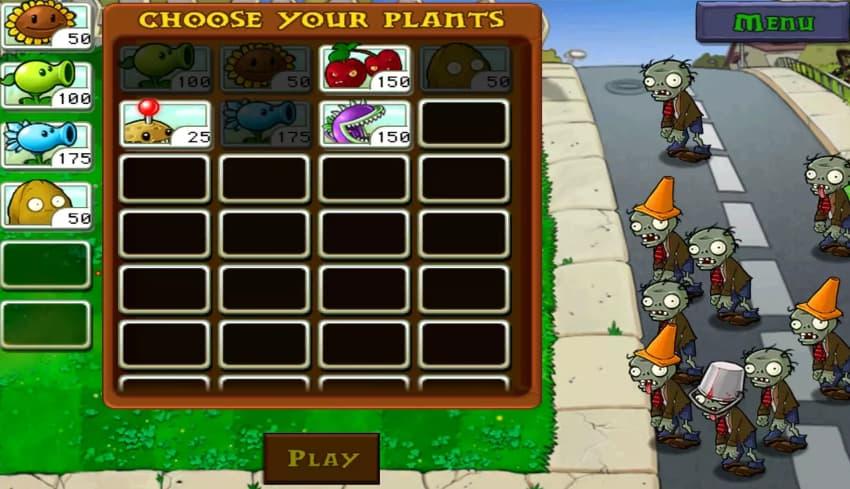 لعبة النباتات ضد الزومبي الجزء الثاني