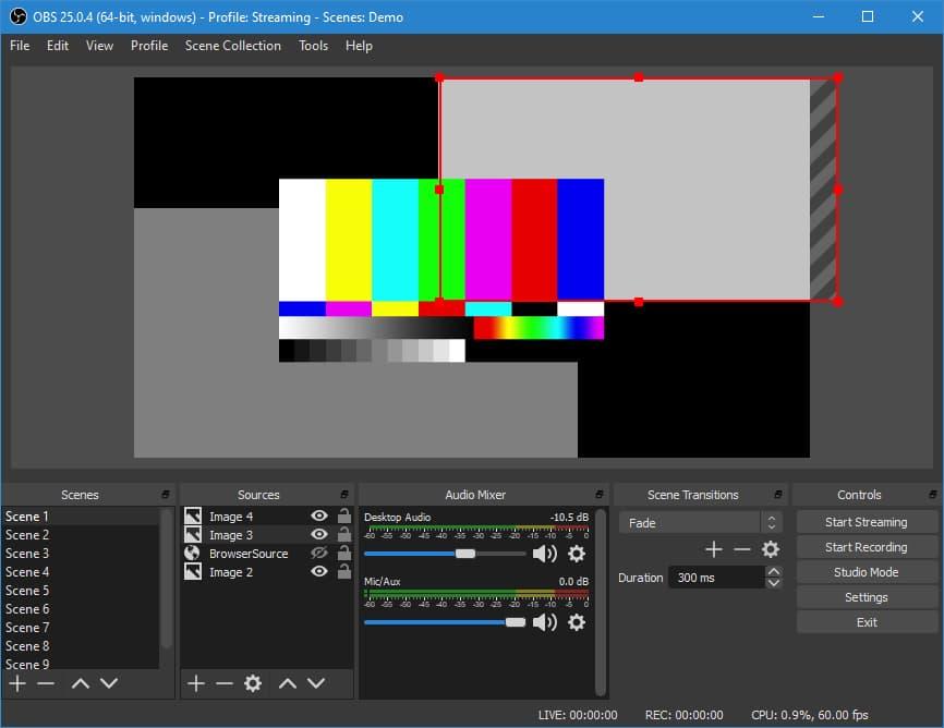 أفضل برنامج تصوير سطح المكتب والألعاب HD